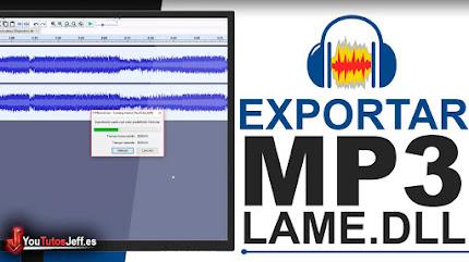 Como Guardar o Exportar MP3 con Audacity - Fácil y Rápido