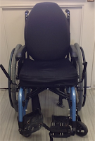 Adult Manual Wheelchair blue picture