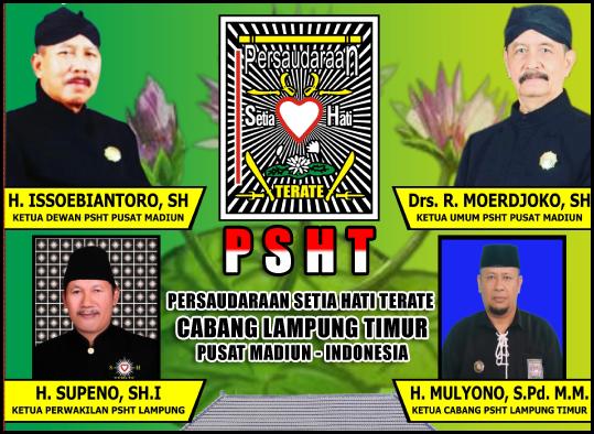 Mulyono, S.Pd, MM (Ketua Cabang Lampung Timur)