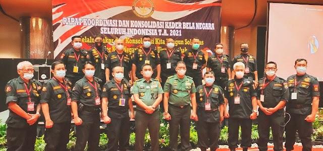 Dirjen Pothan Buka Rakor dan Konsolidasi Kader Bela Negara Seluruh Indonesia