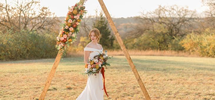 Boho Wedding Vibes at Magnolia Estate in Dayton Ohio