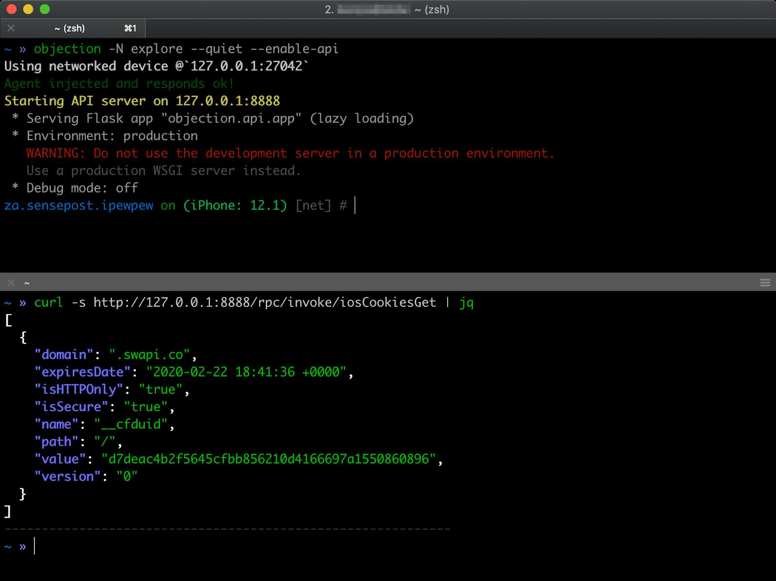 Objection v1 6 6 - Runtime Mobile Exploration