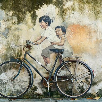 Aku dan Sepeda Ontelku