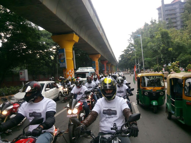 Mahindra Mojo Independence Day Trail Photo