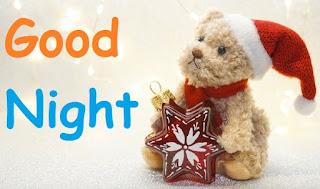 good night cute teddy gif