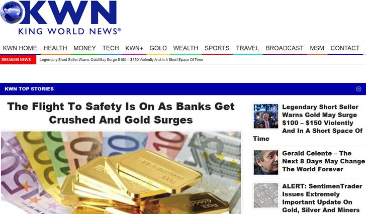 좋은 사이트 소개: 킹월드뉴스 King World News - KingWorldNews.com