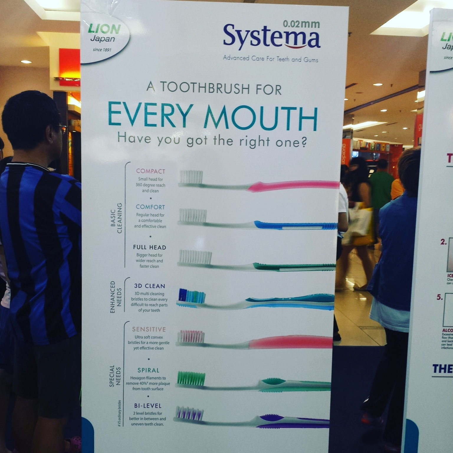 A Healthier Teeth Start With Systema 3d Clean Bettys Journey Toothbrush Power Regular During Roadshow They Provided Oral Test Using The Dental Camera It Allow Us To View Our Condition While Been Consulted