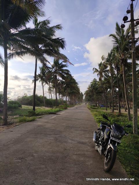 Udyavara beach road