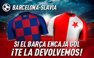 sportium promocion champions Barcelona vs Slavia 5 noviembre 2019