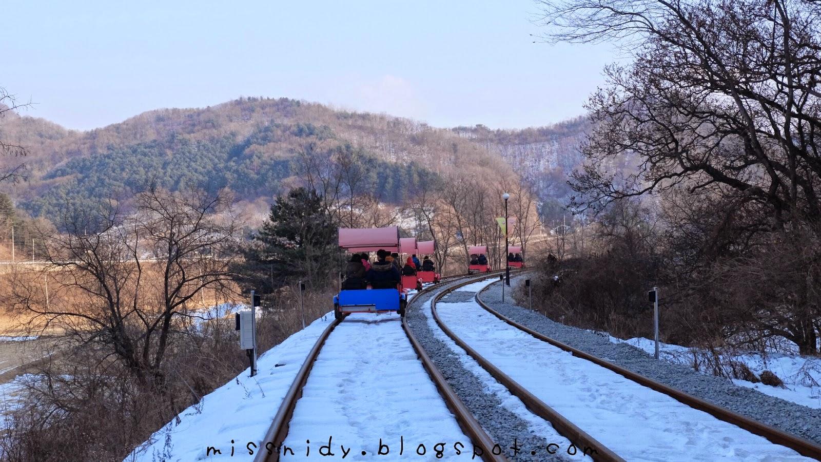 cara menuju gangchon railpark