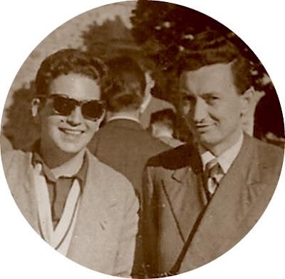 Los ajedrecistas Lucien Francino y Nicola Karaklaic