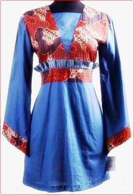 Kumpulan Model Baju Batik Modern Wanita Simple Cantik