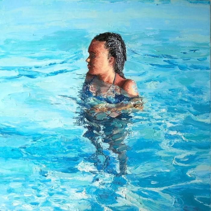 Итальянский художник. Achille Chiarello