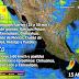 Tormentas de muy fuertes a intensas se prevén en Tamaulipas, San Luis Potosí, Puebla, Veracruz, Oaxaca y Chiapas