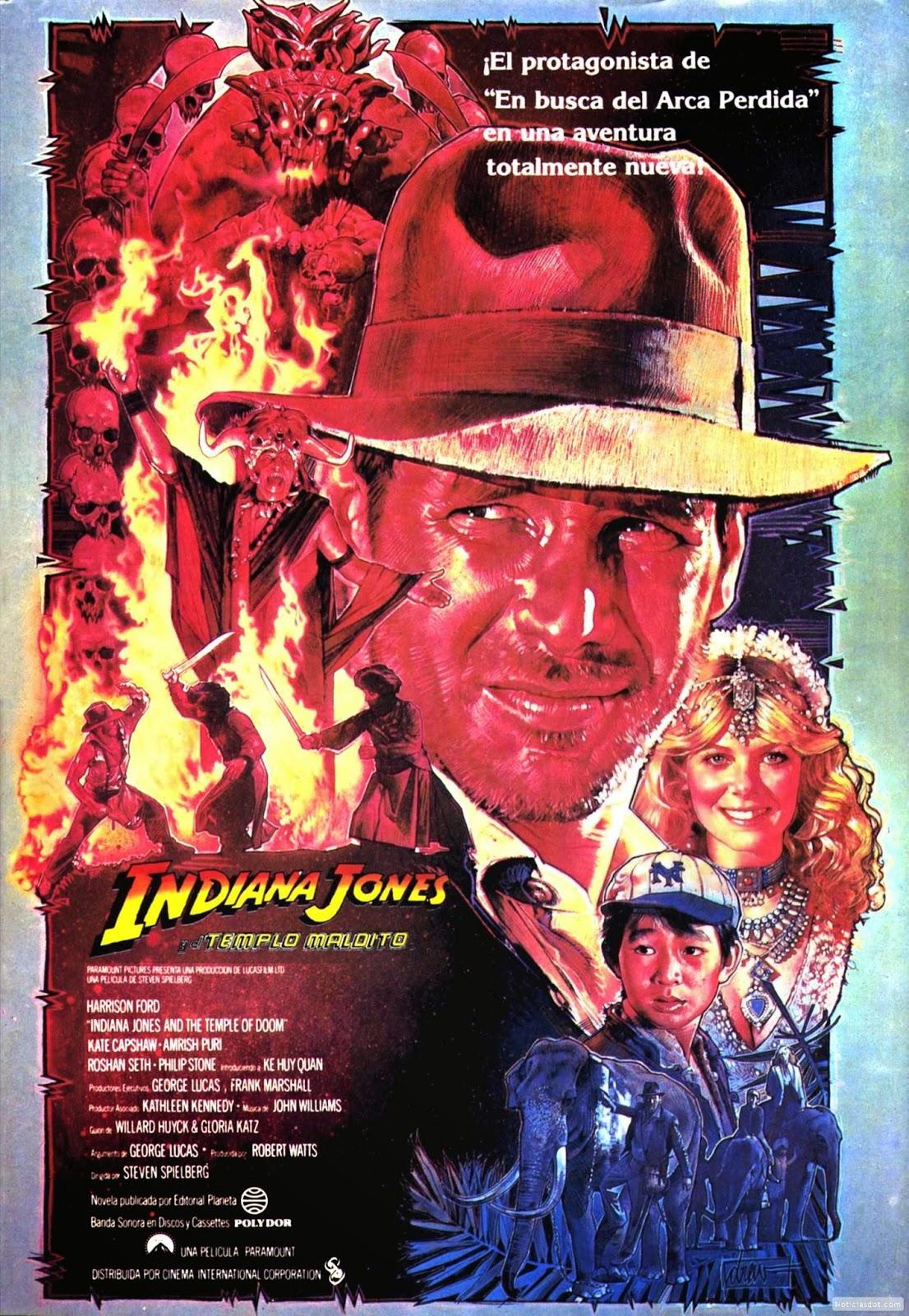 La palomita mecánica  Especiales de La Palomita  Indiana Jones (II ... 00419903b97