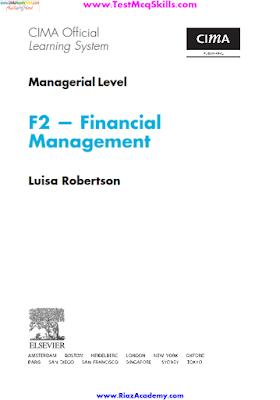 CIMA F2 - Financial Management Download Free