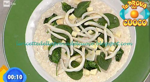 Risotto con calamari e spinacini ricetta Scarpa da Prova del Cuoco
