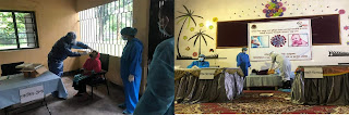 বিনামূল্যে স্বাস্থ্য সেবা ও ঔষধ বিতরণ করলো বাংলাদেশ সেনাবাহিনী