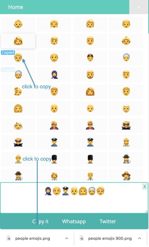 How to Copy Peoples Emojis?