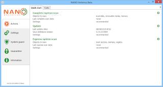 تحميل برنامج الحماية من الفيروسات للكمبيوتر NANO AntiVirus