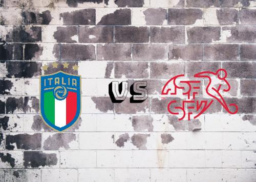 Italia vs Suiza  Resumen y Partido Completo