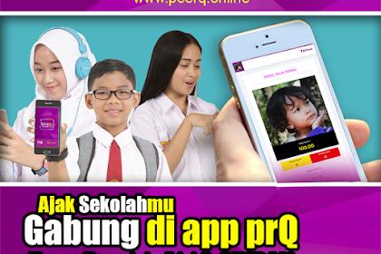 Aplikasi Belajar di Rumah - prQ