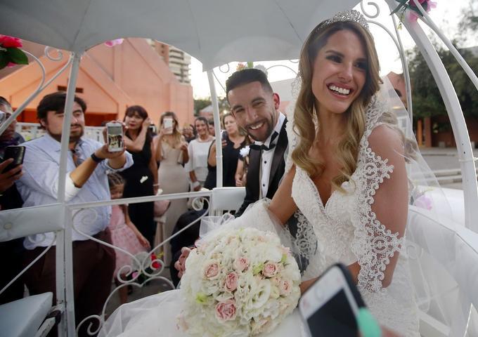 Fotos Matrimonio entre Gala Caldirola y Mauricio Isla
