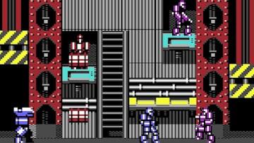 Droid Rumble, el nuevo juego para Commodore 64 #Commodore Never Dies