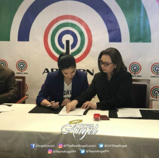 JUST IN: Angel Locsin Renews Her Contract With The ABS-CBN