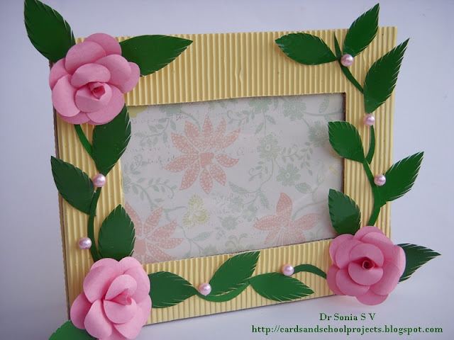 Cards ,Crafts ,Kids Projects: Photo Frame Tutorial
