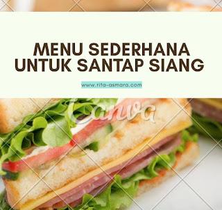 menu santap siang