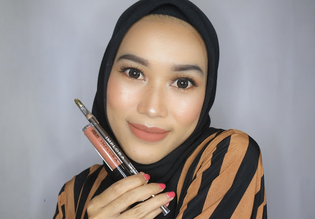 Implora Lip Cream Matte dan Implora Eyebrow Pencil
