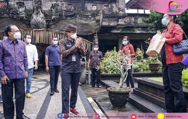 Sandiaga Uno Genjot Sektor Wisata di Bali Bidang Wisata dan Ekonomi Kreatif