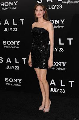 Morphologie V Angelina Jolie