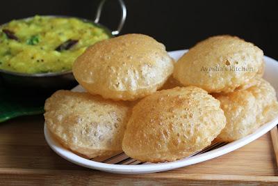 Perfect Poori Recipe in malayalam puri recipe oil free