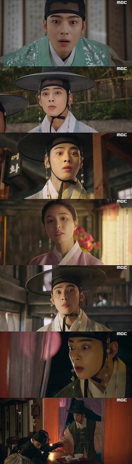 Cha Eunwoo'nun oyunculuğu 'Rookie Historian Goo Haeryung'un ilk bölümünden sonra eleştiri aldı