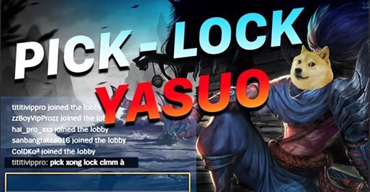 Tự động Pick-lock tướng LOL tốc độ bàn thờ chỉ bằng trình duyệt web