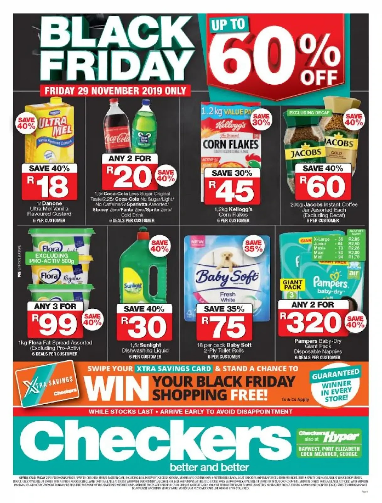 Checkers Black Friday deals - Eastern Cape