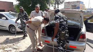 ऐलनाबाद उपचुनाव : राजस्थान सीमा पर पुलिस व अर्धसैनिक बलों ने बढ़ाई चौकसी