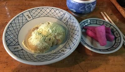 大内宿・山形屋の栃餅