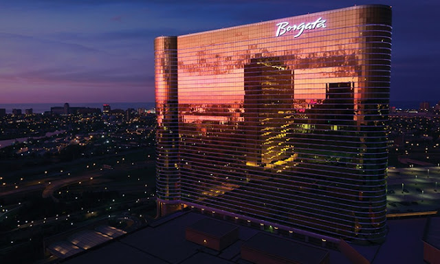Borgata Hotel Casino & Spa in Atlantic City features luxurious rooms, restaurants, and nightlife, plus casino and poker games to keep you entertained your whole stay!