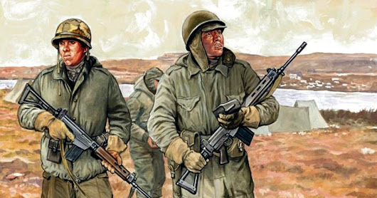 Gaming the Falklands war - part one