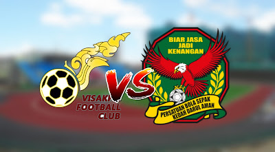 Live Streaming Visakha FC vs Kedah Friendly Match 8.1.2020