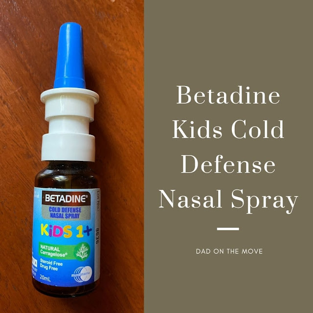 Betadine Kids Cold Defense Nasal Spray review home essential