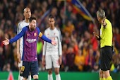 فيلم  يكشف ردة فعل ميسي تجاه حكم مباراة ليفربول