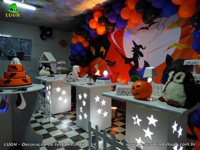 Decoração de festa tema Halloween provençal