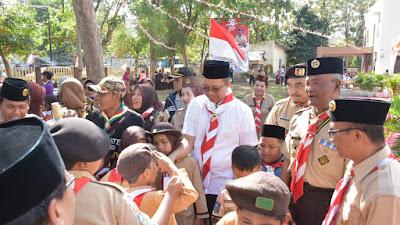 Gebyar Pesta Siaga, Gubernur Ingatkan Untuk Tidak Putus Asa