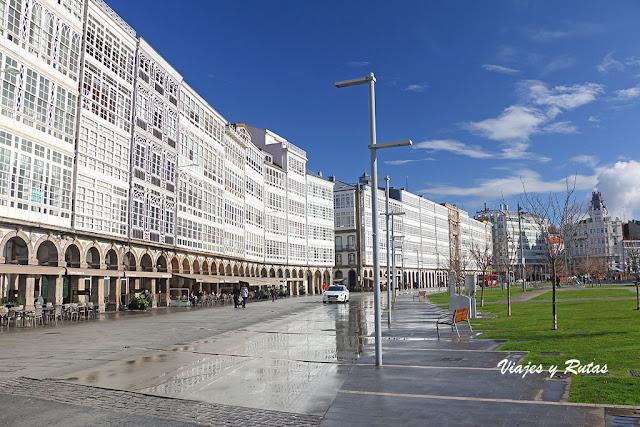 La Marina de La Coruña