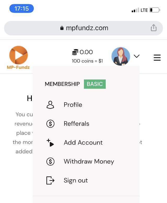 Mpfundz income program - Make money watching videos online