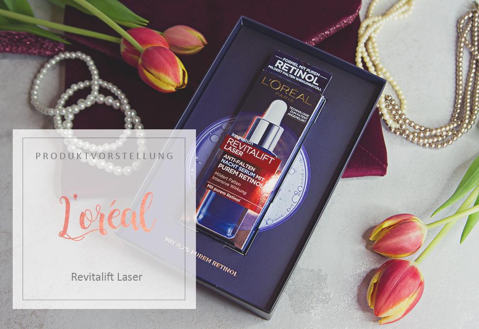 L'Oreal - Revitalift Laser Nacht Serum mit Retinol